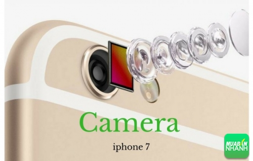 Camera 12 megapixel trên iphone 7