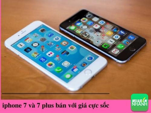 Giá bán iPhone 7 và 7 plus
