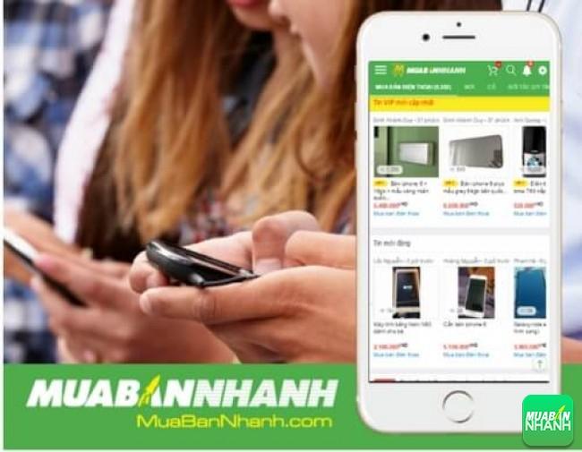 Mua bán điện thoại tại MuaBanNhanh