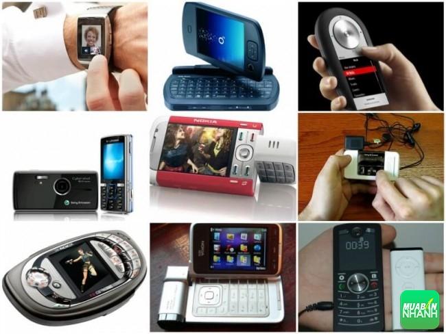 Top điện thoạii độc có thiết kế, tính năng lạ nhất hiện nay